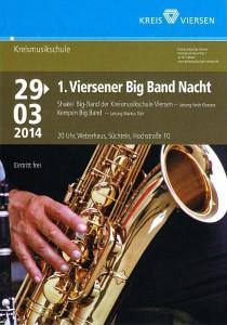 1.Viersener Big Band Nacht