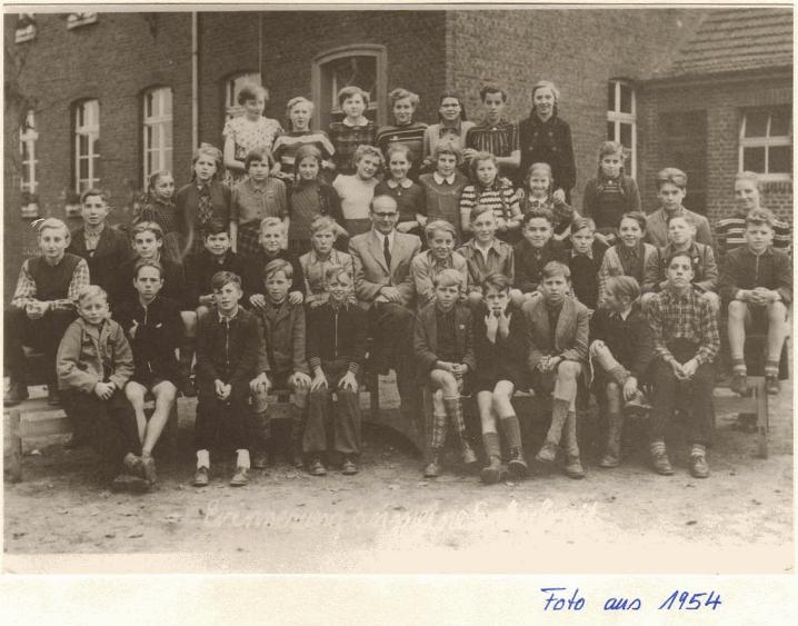 Schule Dornbusch 1954