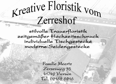 Kreative Floristik vom Zerreshof