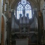 Die große Orgel im Dom zu Münster