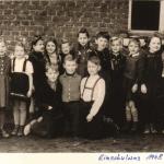 Einschulung 1954
